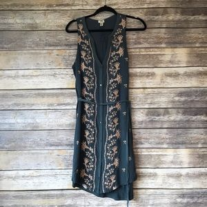Anthropologie Dresses - Tiny Anthropologie M Embroidered Syden Shirtdress